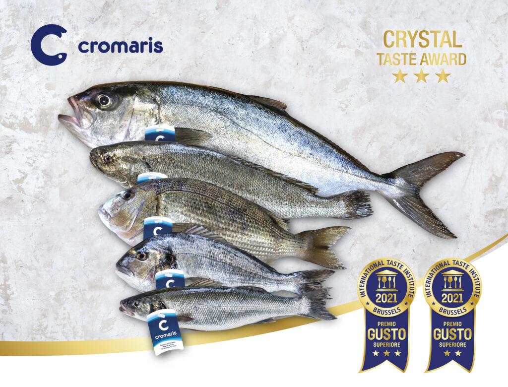 Gusto unico del pesce Cromaris