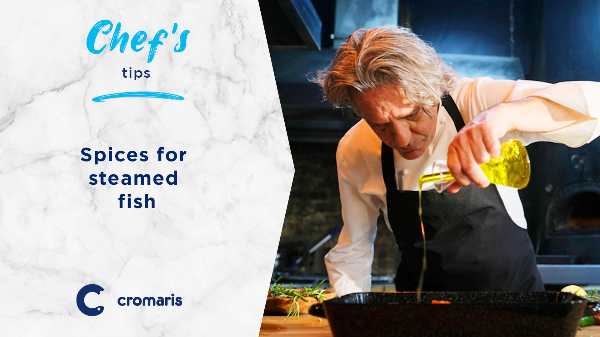 """""""To enhance the taste of steamed fish, I recommend creating a seasoning with oil, lemon juice, chopped onion, parsley, thyme and bay leaves, and marinating the fish with it for at least one hour and a half before cooking it."""""""