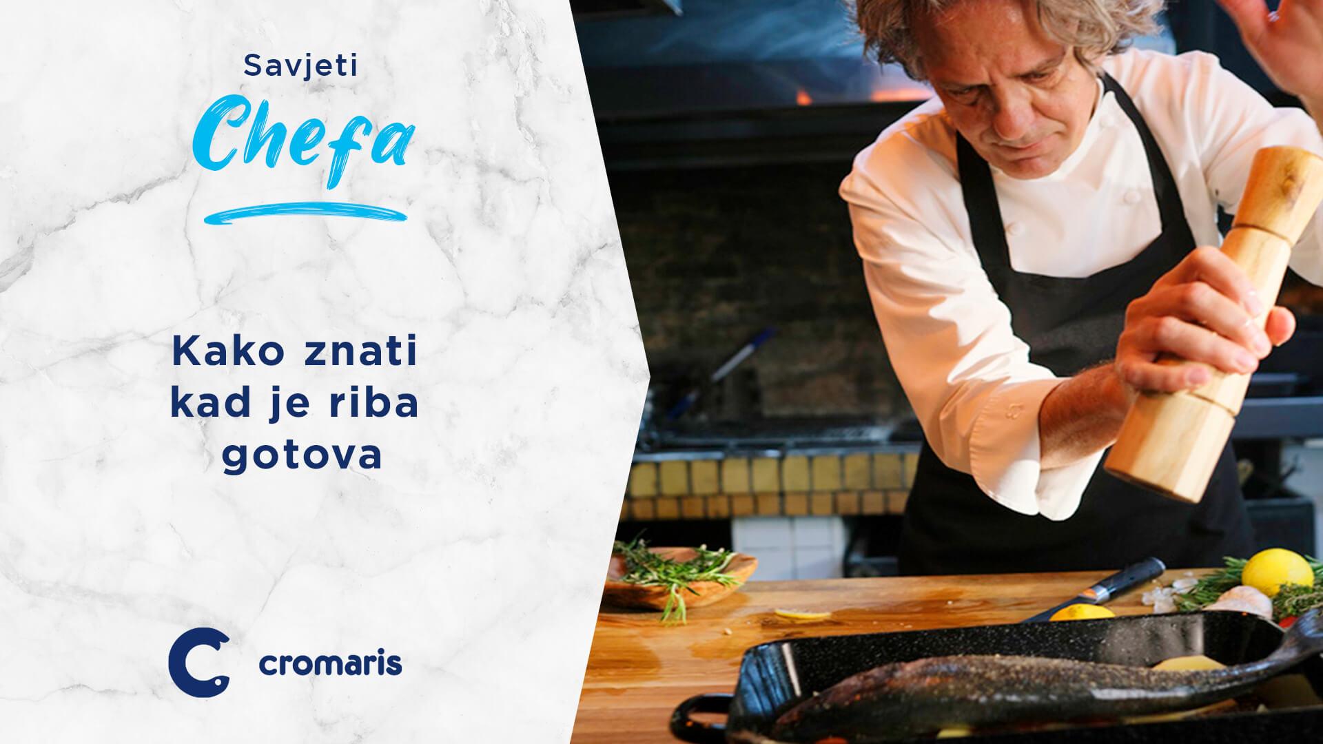 """""""Nemojte odstraniti podrepnu peraju: ako se tijekom kuhanja peraja može lako izvući znači da je riba spremna!"""""""